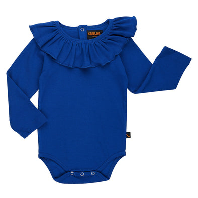 CARLIJNQ Ruffled Body • Blue