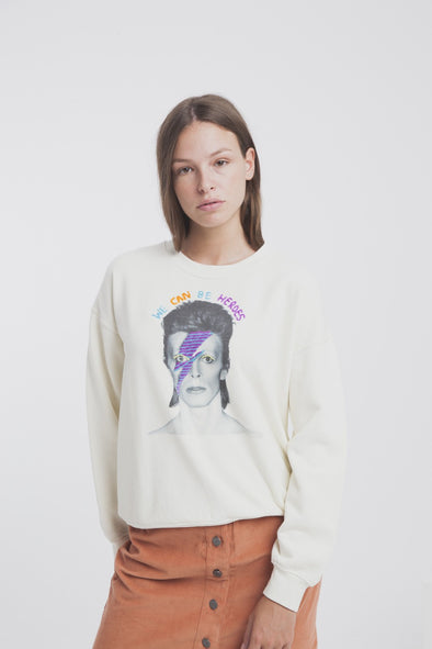 THINKING MU Bowie Sweatshirt •