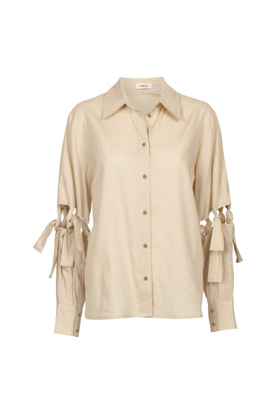 BY SIGNE Emine Shirt • Sand