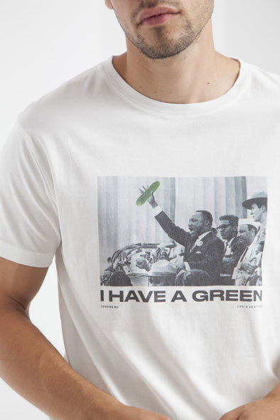 THINKING MU I Have A Green T-Shirt • Snow White