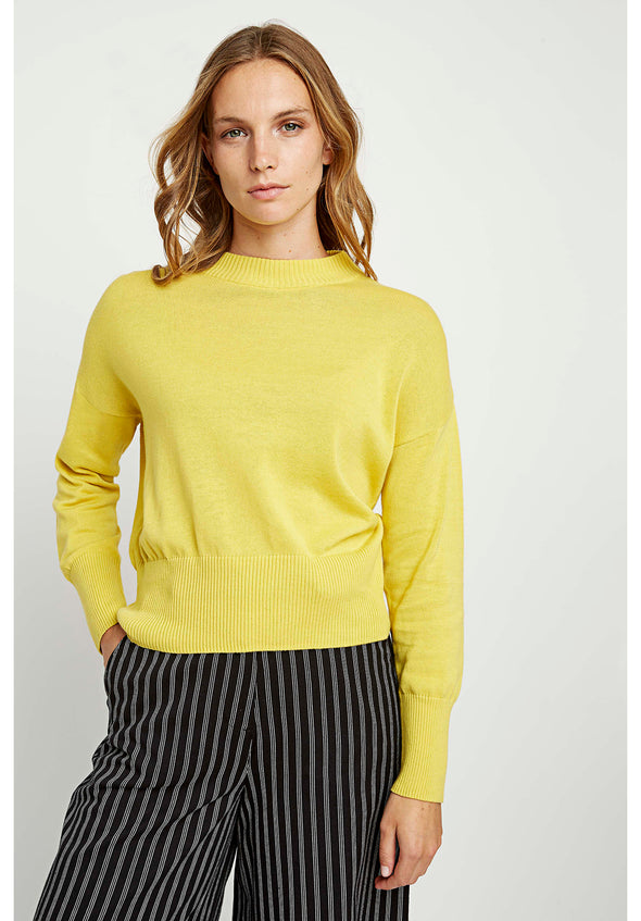 PEOPLE TREE Charlotte Jumper • Yellow