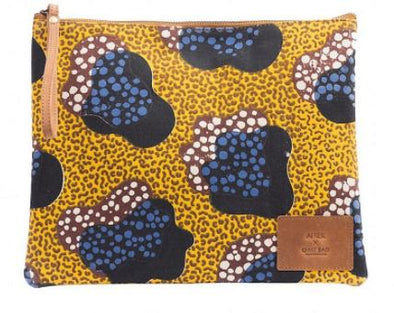 Afriek x O My Bag • Clutch Yellow