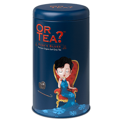 OR TEA Duke's Blue • Tin Canister