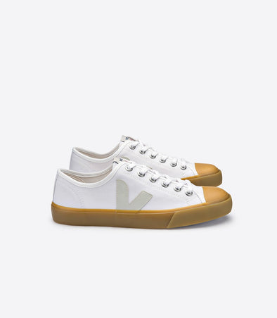 VEJA Wata • Canvas White Natural Sole