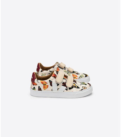 VEJA Junior Esplar • Small Velcro Silk Deyrolles