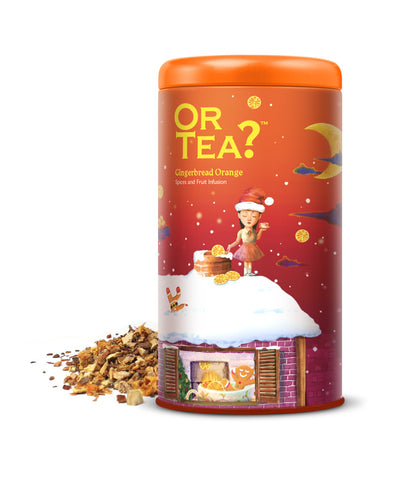 OR TEA  Gingerbread Orange • Tin Canister