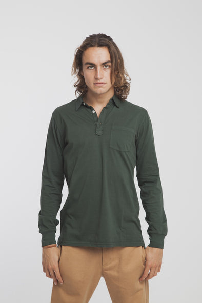 THINKING MU Polo • Green