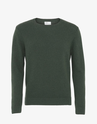 COLORFUL STANDARD Merino Wool Crew • Emerald Green