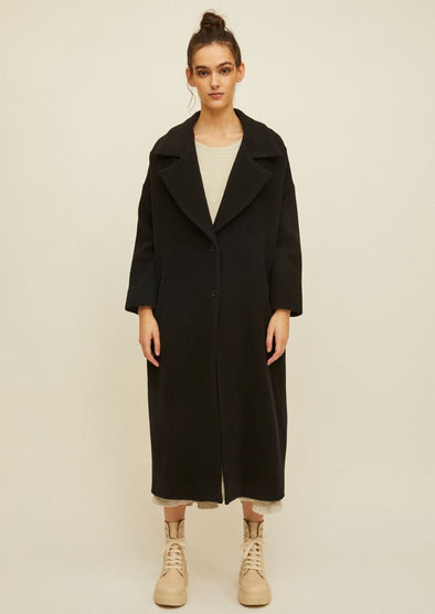 RITA ROW • Poni Garment Coat Black