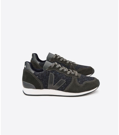 VEJA Holiday • Low Top Flannel Dark Grafite Grafite