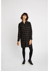 PEOPLE TREE Shirt Dress • Jean Check