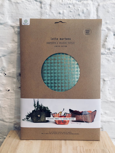 Lotte Martens DIY Basket • Jumeaux Mint