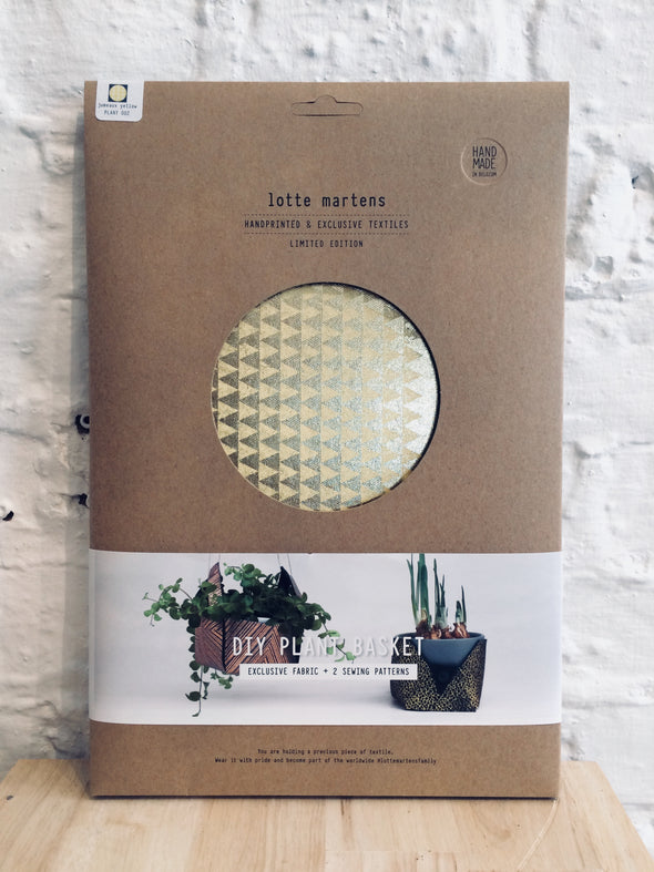 Lotte Martens DIY Plant Basket • Jumeaux Yellow