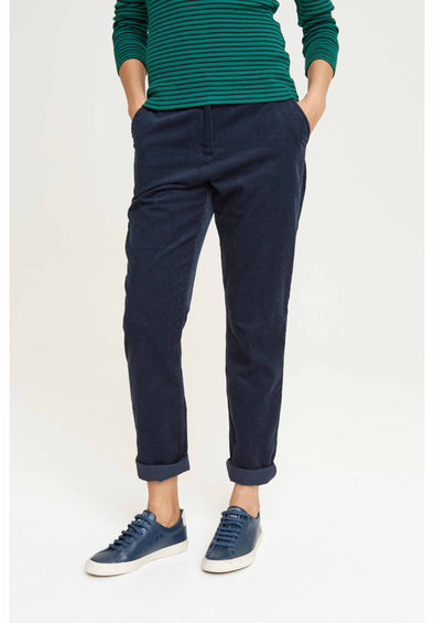 People Tree Kana Corduroy Trousers • Navy
