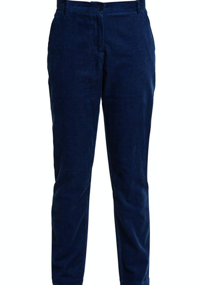 PEOPLE TREE  Kana Corduroy Trousers • Blue