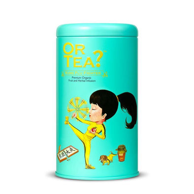OR TEA Kung Flu Fighter • Tin Canister