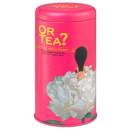 OR TEA Lychee White Peony • Tin Canister