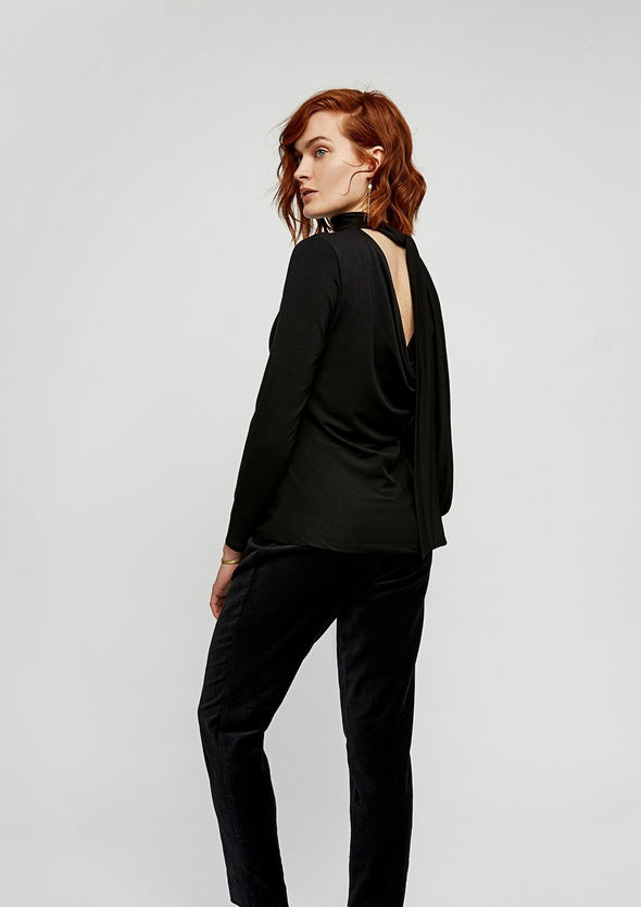 PEOPLE TREE Marylou Top • Black
