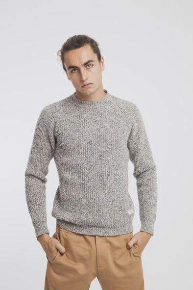 THINKING MU Sweater • Melange Beige