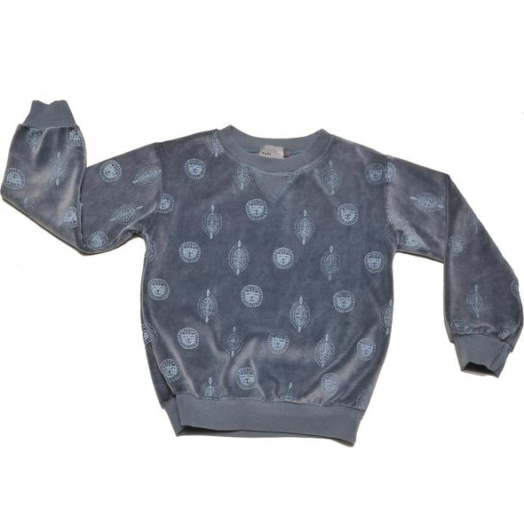 PINATAPUM Mercurio Sweatshirt • Lion Blue