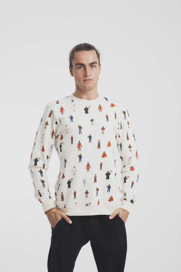 THINKING MU Mitos Jalon de Aquiles Sweatshirt