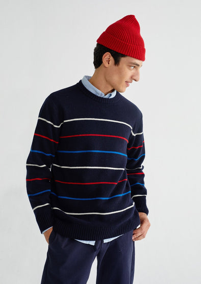 harvestclub-harvest-club-leuven-thinking-mu-striped-miki-knit-navy