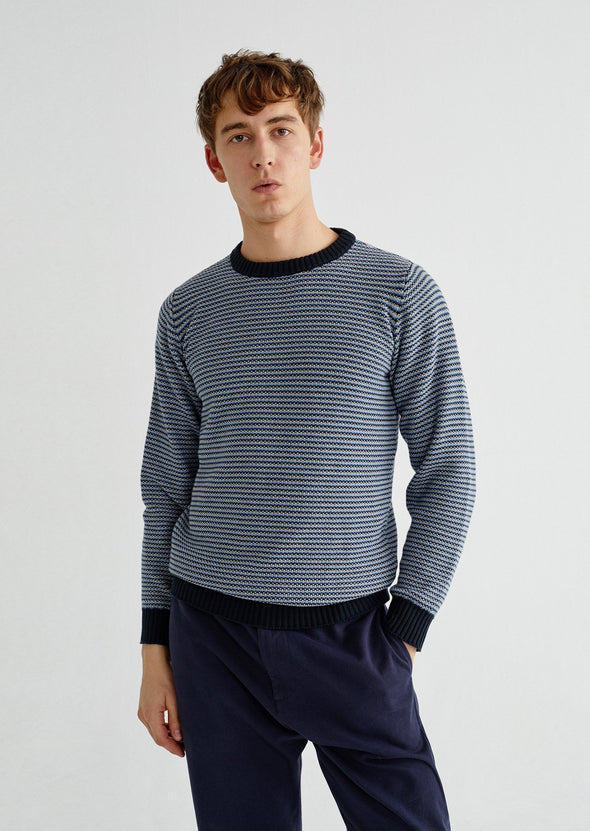 harvestclub-harvest-club-leuven-thinking-mu-osiris-stripes-knit-navy