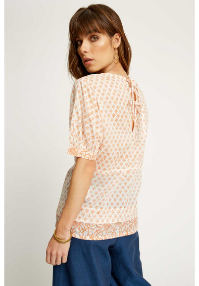 PEOPLE TREE Molly Top  • Coral