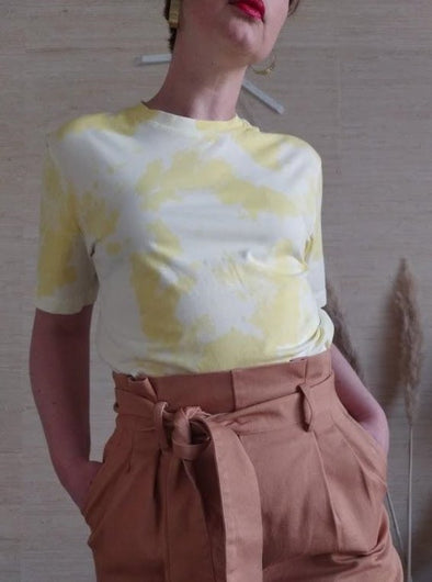 BY SIGNE Moon Shirt • Yellow