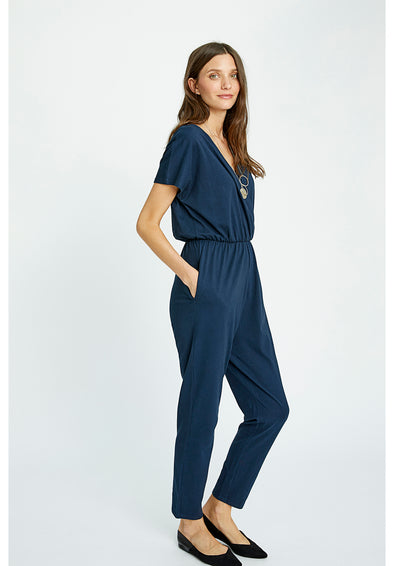 PEOPLE TREE  Oliana Jumpsuit • Navy