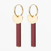 Jacqueline & Compote Earrings • Onwa 4