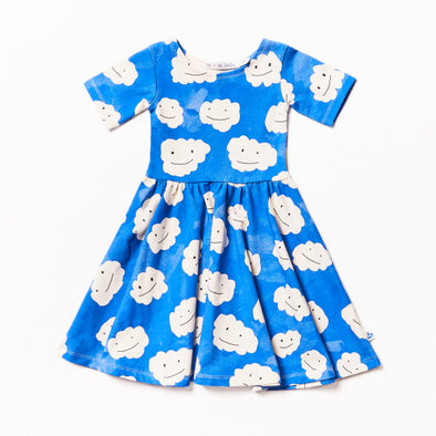 NOE & ZOË Ballerina Dress • Blue Clouds