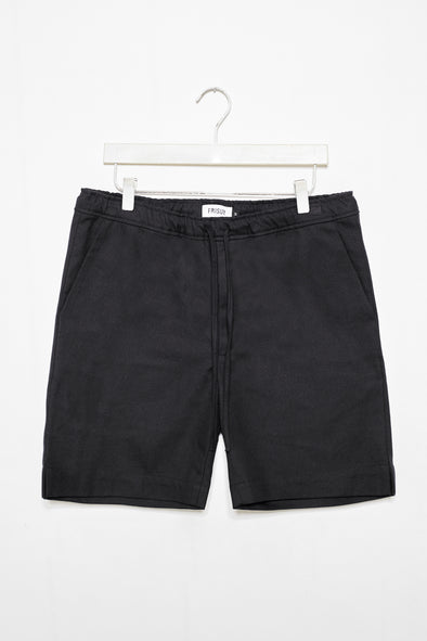FRISUR Jim Shorts • eco twill black