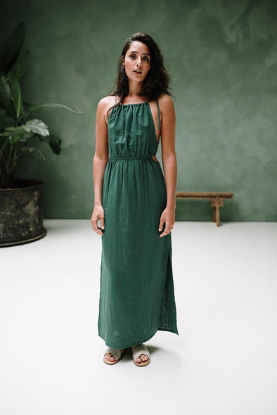 JLAB3L Priya Maxi Dress • Green