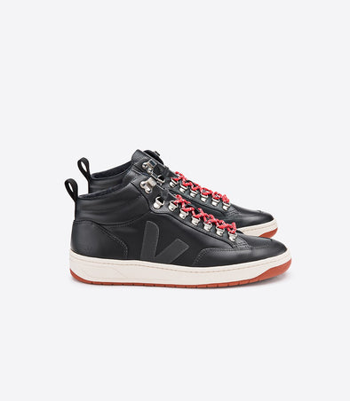 VEJA Roraima Bastille • Leather Black Grafite Rust Outsole