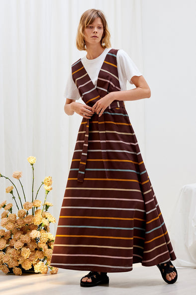 KOWTOW Sculpture Dress • Landscape Stripe