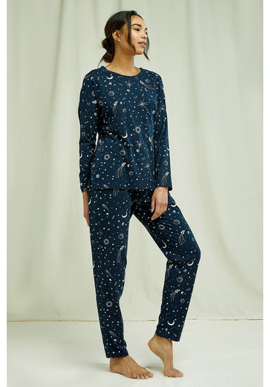 harvestclub-harvest-club-leuven-people-tree-starlight-pyjama-longsleeve-top-navy