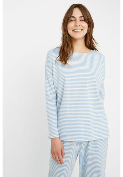 harvestclub-harvest-club-leuven-people-tree-stripe-pyjama-long-sleeve-top-blue-cream
