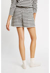 PEOPLE TREE  Stripe Pyjama Shorts  • Grey