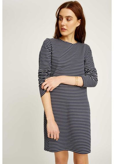 PEOPLE TREE  Veronica Dress • Navy