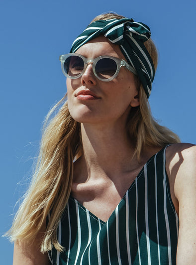 STUDIO JUX Headband • Deep Sea Stripe