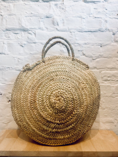 The Souks • Straw Bag Rond