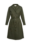 PEOPLE TREE  Tia Coat Dress • Khaki