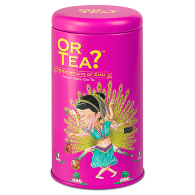 OR TEA The Secret Life of Chai • Tin Canister