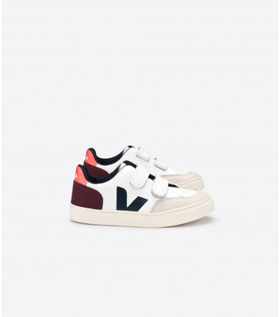 VEJA Junior V-12 • Velcro Leather x Bellerose