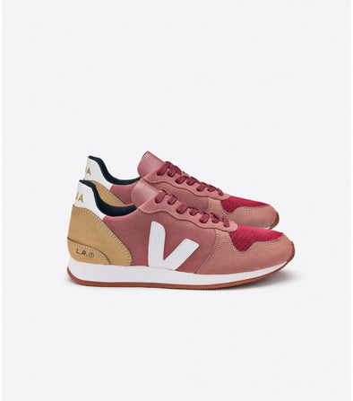 VEJA Holiday  • Low Top Suede Dried Petal Marsala Desert