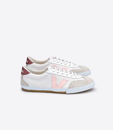 VEJA Volley • Canvas White Dried Petal