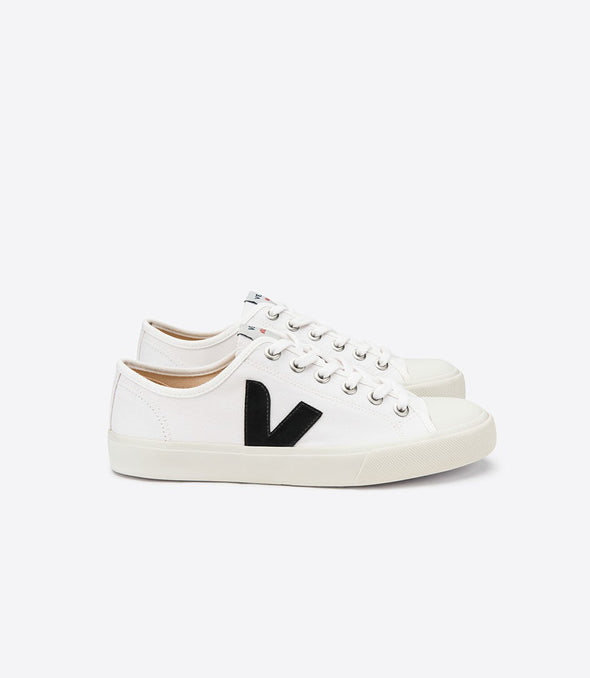 VEJA Wata • Canvas White Black