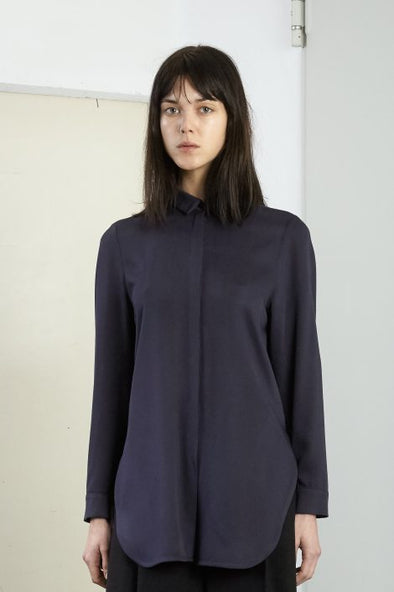 Frisur Shila Shirt • Soft Navy