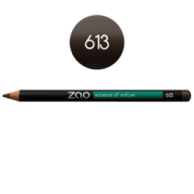 ZAO Pencil lip eye eyebrow 613 • lichtbruin